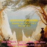 BRAHMS - Deplus - Sonate pour clarinette et piano n°1 en fa mineur op.12