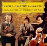 MOZART - Pires - Trio pour piano et cordes n°4 en si bémol majeur K.502