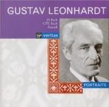 BACH - Leonhardt - Suite anglaise n°3, pour clavier en sol mineur BWV.80