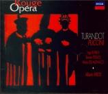 PUCCINI - Erede - Turandot