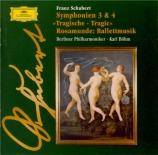 SCHUBERT - Böhm - Symphonie n°3 en ré majeur D.200