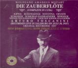 MOZART - Toscanini - Die Zauberflöte (La flûte enchantée), opéra en deux Live Salzburg 30 - 6 - 1937