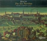 BACH - Hewitt - Partitas pour clavier BWV 825-830
