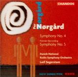 NØRGÅRD - Segerstam - Symphonie n°4