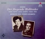 WAGNER - Keilberth - Der fliegende Holländer (Le vaisseau fantôme) WWV.6 Live Bayreuth 1955