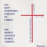 HAYDN - Quatuor Sine No - Les sept dernières paroles du Christ sur la cr