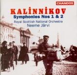KALINNIKOV - Järvi - Symphonie n°1 en sol mineur