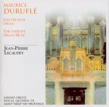 DURUFLE - Lecaudey - Oeuvre pour orgue (L')