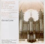 Les organistes de Notre-Dame de Paris du XVIIe à nos jours Vol.1 : Jusqu'à la Révolution