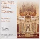 Pièces d'orgue  Orgue de l'ancienne cathédrale de St-Pons