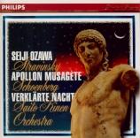 STRAVINSKY - Ozawa - Apollon musagète, ballet en 2 tableaux pour orchest