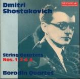 CHOSTAKOVITCH - Borodin Quartet - Quatuor à cordes n°1 op.49