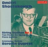 CHOSTAKOVITCH - Borodin Quartet - Quatuor à cordes n°3 op.73
