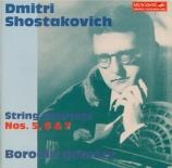 CHOSTAKOVITCH - Borodin Quartet - Quatuor à cordes n°5 op.92