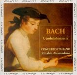BACH - Alessandrini - Concerto pour clavecin et cordes n°1 en ré mineur