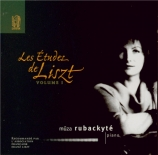 LISZT - Rubackyté - Trois études de concert, pour piano S.144