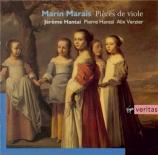 MARAIS - Hantai - Pièces de viole