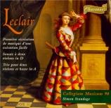 LECLAIR - Standage - Première recréation de musique op.6