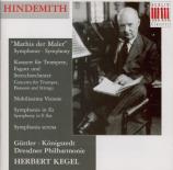 HINDEMITH - Kegel - Symphonie 'Mathis der Maler' (1933-34)
