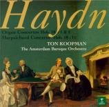 HAYDN - Koopman - Concerto pour clavier et orchestre en do majeur Hob.XV