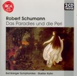 SCHUMANN - Kuhn - Das Paradies und die Peri (Moore), oratorio pour solis