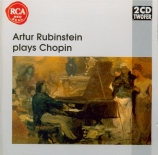 CHOPIN - Rubinstein - Valse pour piano en la bémol majeur op.34 n°1