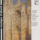 CAPLET - Coste - Conte fantastique, pour harpe et quatuor à cordes