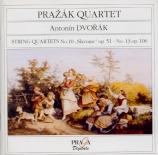 DVORAK - Prazak Quartet - Quatuor à cordes n°10 en mi bémol majeur op.51