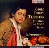 TELEMANN - Dombrecht - Ouverture pour deux hautbois, cordes et basse con