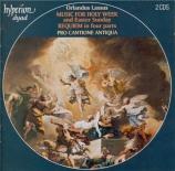 LASSUS - Turner - Lamentations de Jérémie