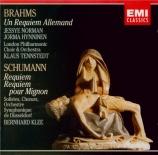 BRAHMS - Tennstedt - Ein deutsches Requiem (Un Requiem allemand), pour s