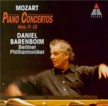 MOZART - Barenboim - Concerto pour piano et orchestre n°12 en la majeur