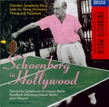 Schoenberg in Hollywood