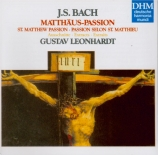 BACH - Leonhardt - Passion selon St Matthieu BWV 244 : extraits