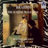BRAHMS - Kruysen - Fünfzehn Romanzen (Tieck), quinze romances pour une v