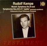 MOZART - Kempe - Symphonie n°39 en mi bémol majeur K.543