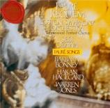 FAURE - Ozawa - Requiem pour voix, orgue et orchestre en ré mineur op.48