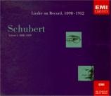 Lieder on Record 1898-1952 vol.1