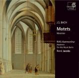 BACH - Jacobs - Singet dem Herrn ein neues Lied, motet pour chœur à 8 vo
