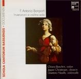 BONPORTI - Banchini - Inventions pour violon seul op.10