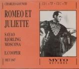 GOUNOD - Cooper - Roméo et Juliette