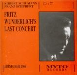 Fritz Wunderlich's Last Concert