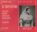 VERDI - Votto - Il trovatore, opéra en quatre actes (version originale 1 live Scala di Milano, 23 - 2 - 1953