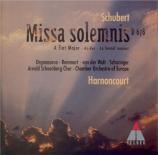 SCHUBERT - Harnoncourt - Messe n°5 en la bémol majeur, pour solistes, ch