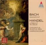 BACH - Harnoncourt - Magnificat en ré majeur, pour solistes, chœur et or