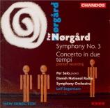 NØRGÅRD - Segerstam - Symphonie n°3