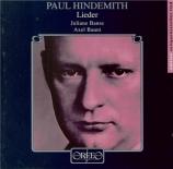 HINDEMITH - Banse - Lieder