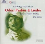 Odes, Psalms & Lieder
