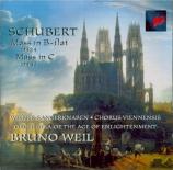 SCHUBERT - Weil - Messe n°3 en si bémol majeur, pour solistes, choeur, or