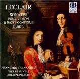 LECLAIR - Fernandez - Sonate pour violon op.9 n°8
